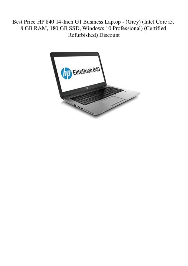 Best Price Hp 840 14 Inch G1 Business Laptop Grey Intel Core I5