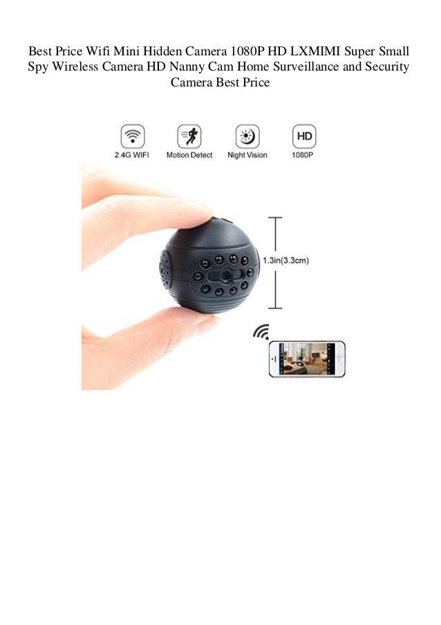 Best Price Wifi Mini Hidden Camera 1080P HD LXMIMI Super