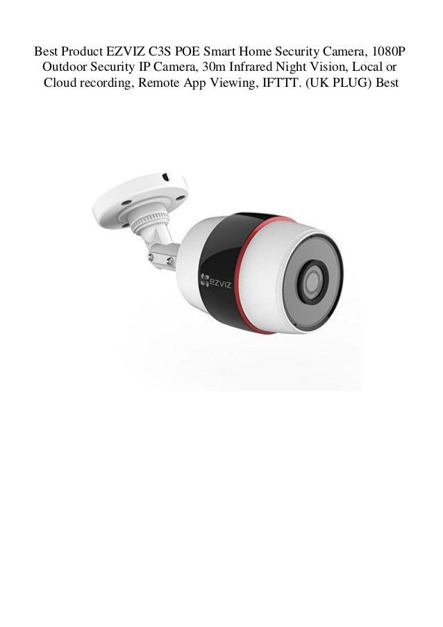 Best Product EZVIZ C3S POE Smart Home Security Camera 1080P