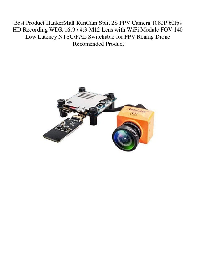 Best Product HankerMall RunCam Split 2S FPV Camera 1080P 60fps HD Rec…
