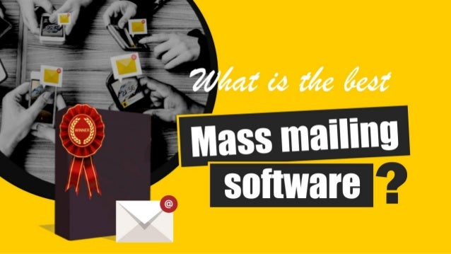 Best program for sending mass email campaigns