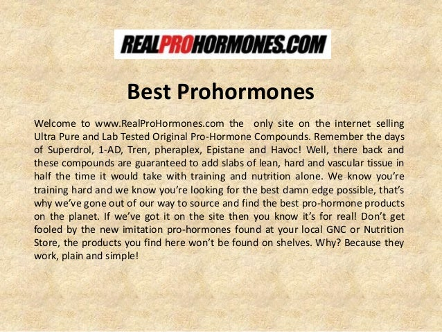 Best Prohormones