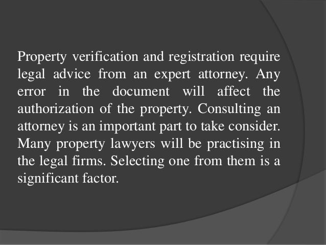 Best property lawyers in Bangalore Slide 2