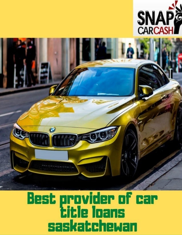 Get instant money against your car title Your car has a lot of potential when it comes to helping you with your daily need...