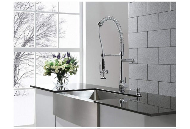 Best pull down kitchen faucet reviews 2019