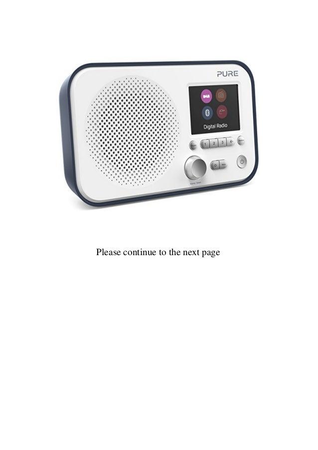 Best Pure Elan BT3 Portable Digital DABDAB+FM Radio with