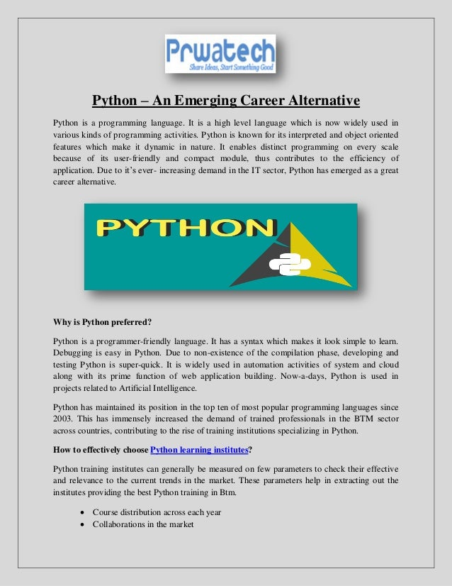 Best python training bangalore btm, python training in bangalore, prw…