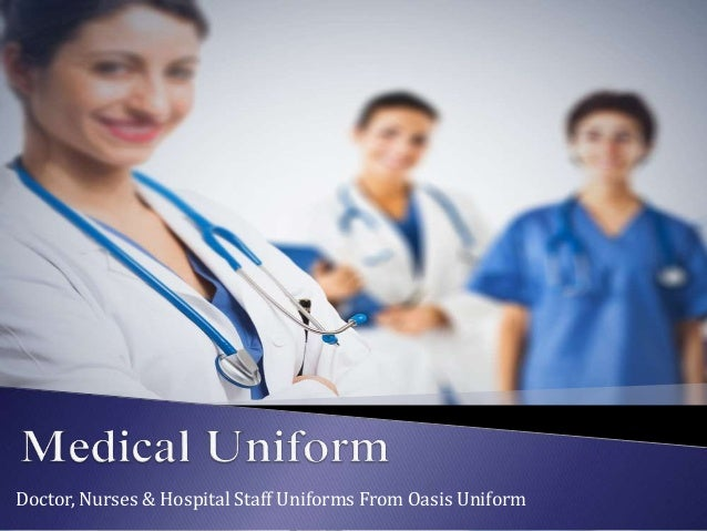 Doctor, Nurses & Hospital Staff Uniforms From Oasis Uniform
