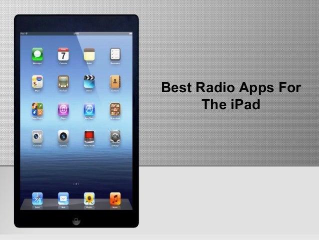 Best Radio Apps ForThe iPad