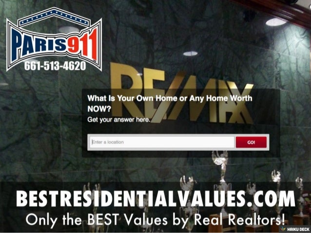 Best Real Estate Values and Pricing Estimates