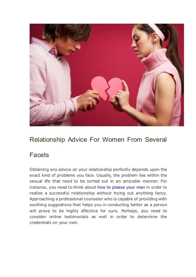 relationship advice for women in their 20
