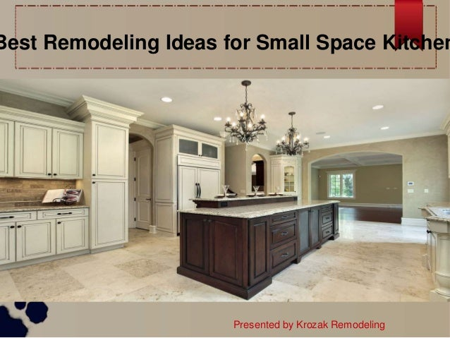 Best Remodeling Ideas For Small Space Kitchen