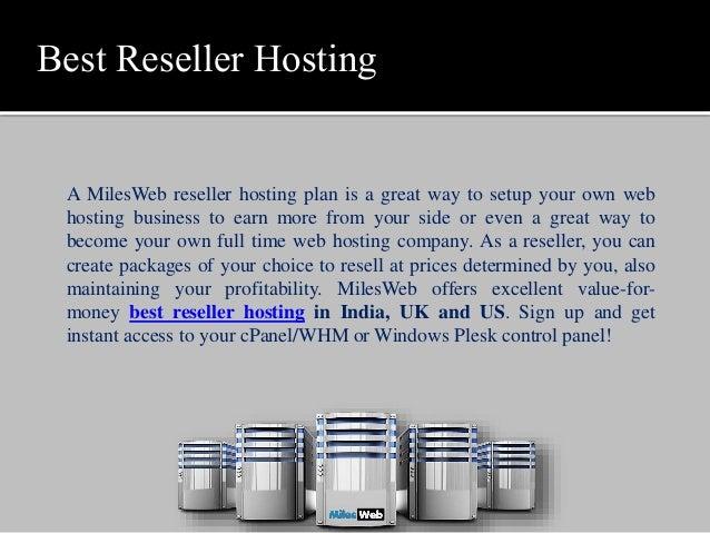 best reseller hosting