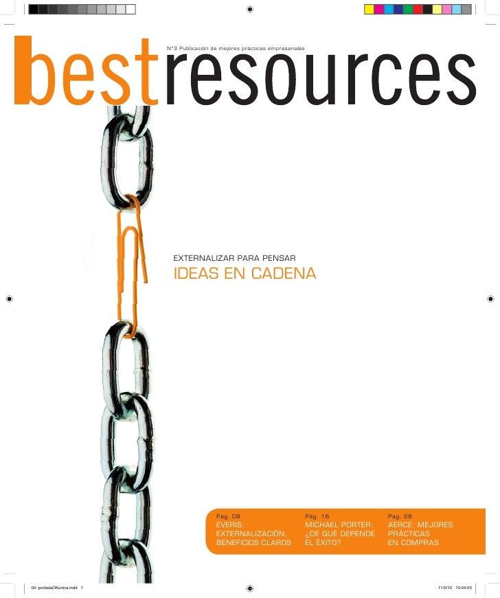 Nº3 Publicación de mejores prácticas empresariales       EXTERNALIZAR PARA PENSAR    IDEAS EN CADENA                      ...