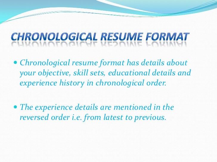 ... Resume Formatu003cbr /u003e; 4.