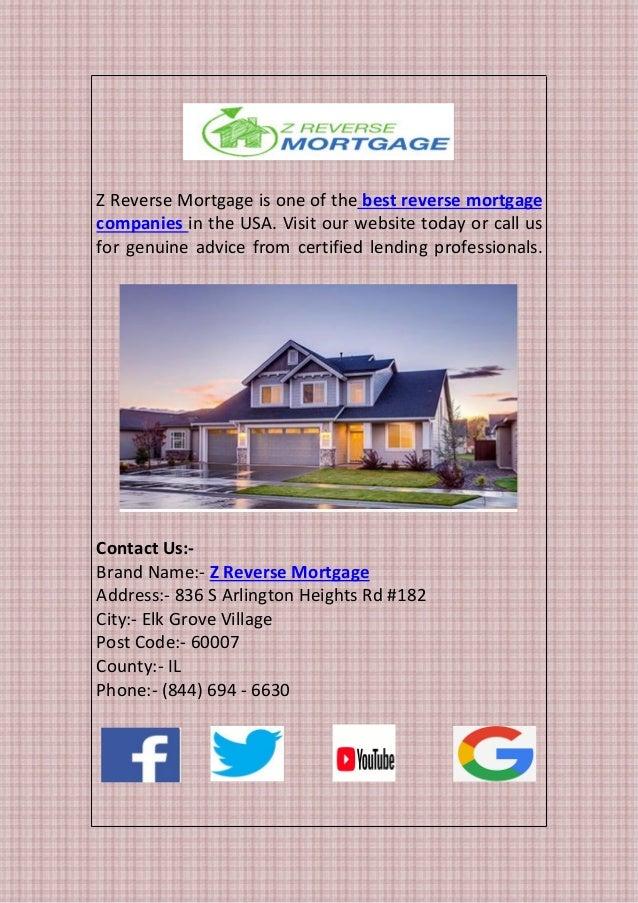 best reverse mortgage lenders