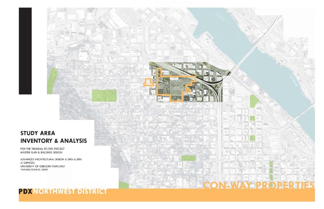STUDY AREA  HISTORY  COMMON VISION  CLIMATE & ENVIRONMENT  URBAN FABRIC  ZONING  TRANSIT & TRAFFIC  OPPORTUNITIES