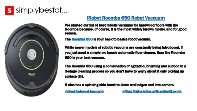 The Best Robotic Vacuum For Hardwood Floors - Best automatic vacuum for wood floors