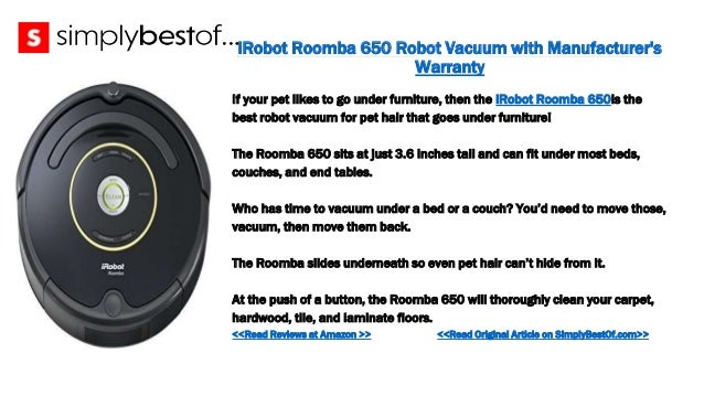 The 6 Best Robot Vacuums for Pet Hair