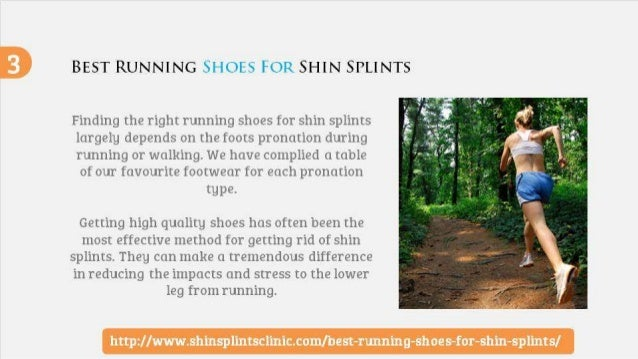 Best Running Shoes For Pronation And Shin Splints