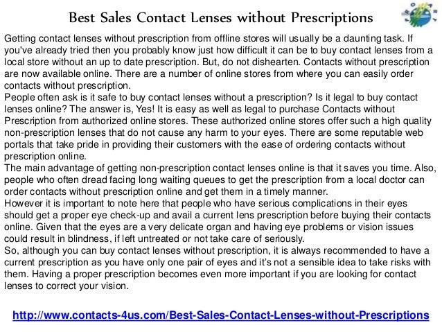 6bbe8b25ae4 Best Sales Contact Lenses without Prescriptions - Contacts4Us