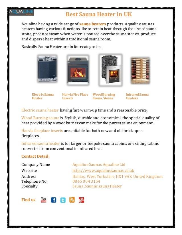 Best Sauna Heater in UKAqualinehaving a widerange of sauna heaters products.Aqualinesaunasheaters having variousfunctionsl...