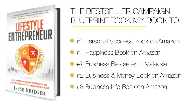 Bestseller campaign blueprint decoded by jesse krieger person has a in them malvernweather