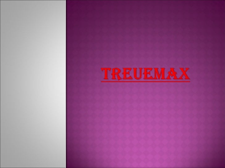  TreueMax  will be focusing on leveraging its  employee's established reputations and  contacts in the telemarketing indu...