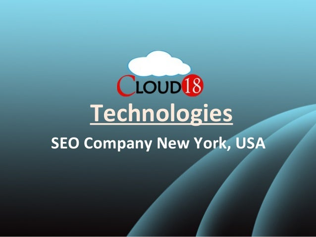 Technologies SEO Company New York, USA