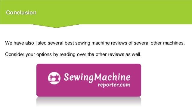 best machine reviews