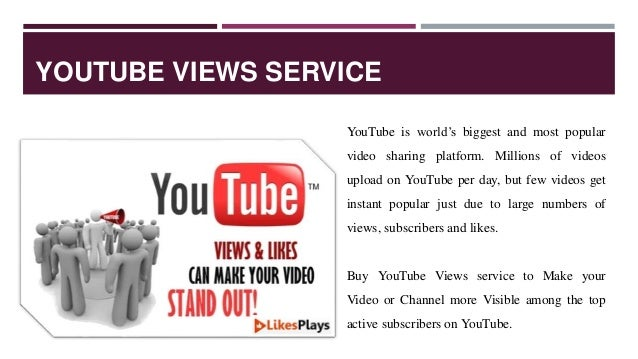 Best Site to Buy YouTube Views 2018
