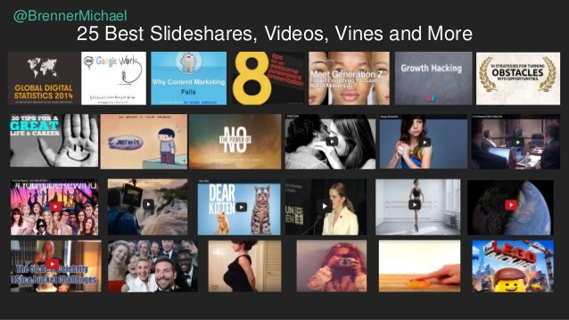 The 25 Best Slideshares, Videos, Vines (And More) Of The Past Year Slide 3