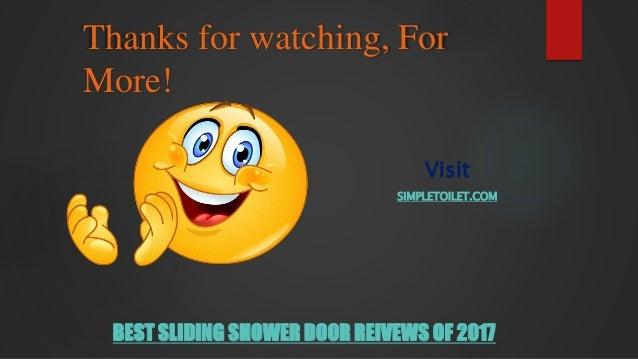 ... 10. Thanks For Watching, For More! Visit SIMPLETOILET.COM BEST SLIDING  SHOWER DOOR ...