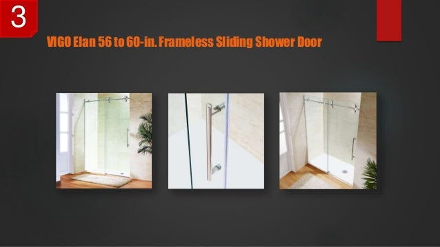 Frameless Sliding Shower Door 3 ...