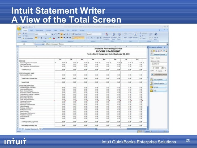 eClientLink Custom Reports for QuickBooks