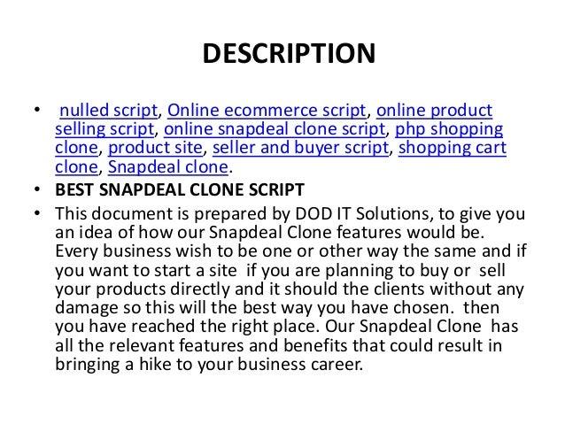Best Snapdeal Clone Script | WEBSITE SCRIPTS
