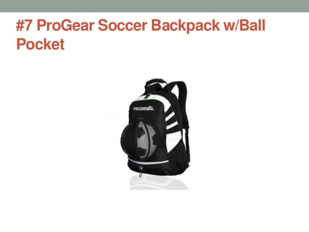 471cfae39121  7 ProGear Soccer Backpack w Ball Pocket ...