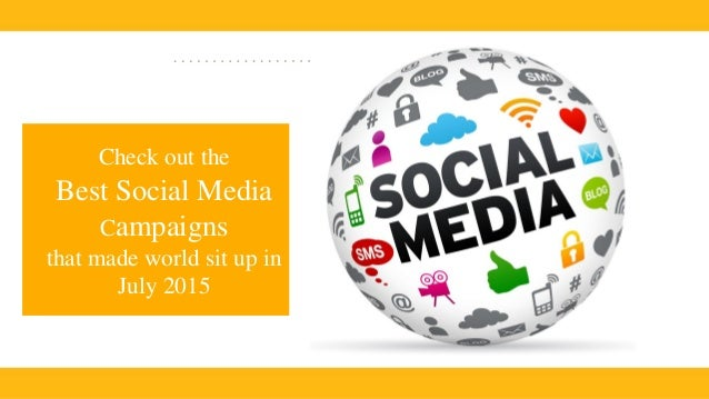 4 Components Of The Best Social Media Campaigns