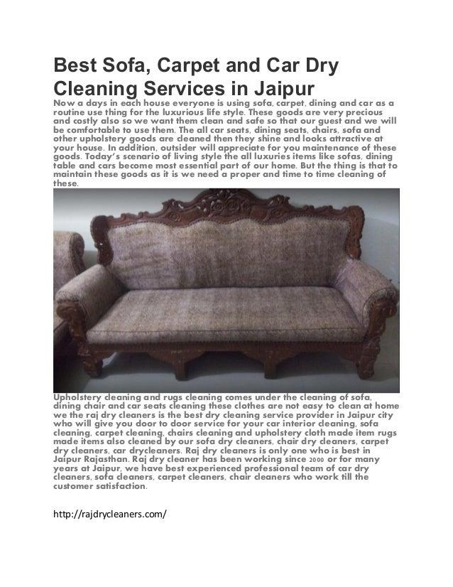 Best sofa cleaner in jaipur