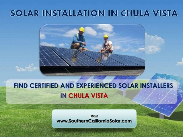 Best Solar Companies >> Best Solar Companies In Chula Vista Ca