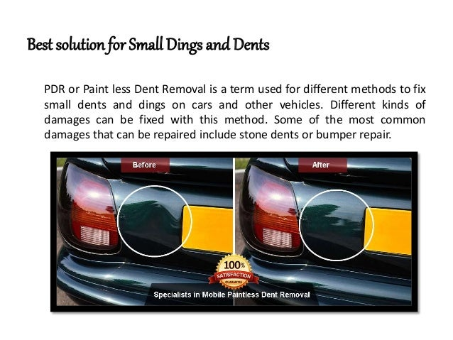 Dings And Dents >> Best Solution For Small Dings And Dents