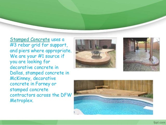 Best Stamped Concrete And Patio Covers In Dallas Tx