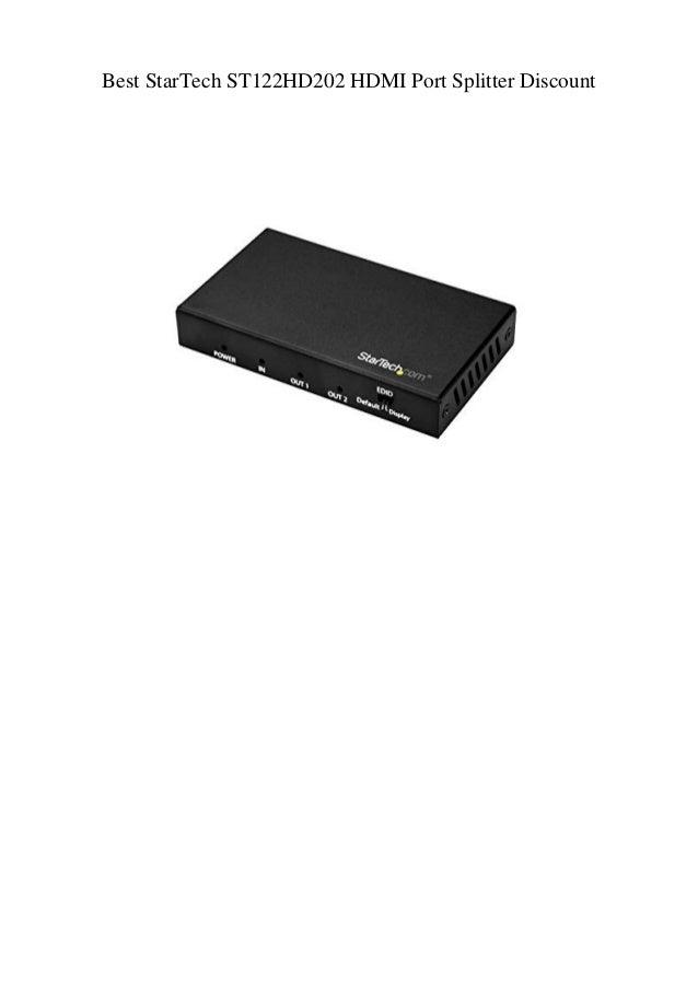 ST122HD202 StarTech HDMI Cable Black