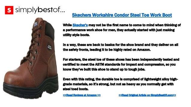 ... 12. Skechers Workshire Condor Steel Toe Work Boot ... e2e895e54540