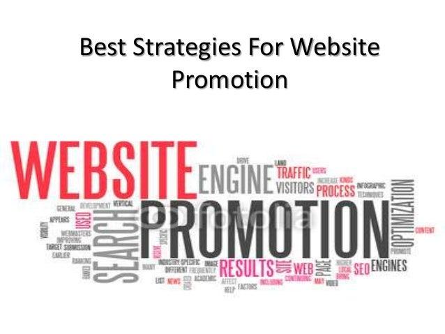 Best Strategies For Website Promotion