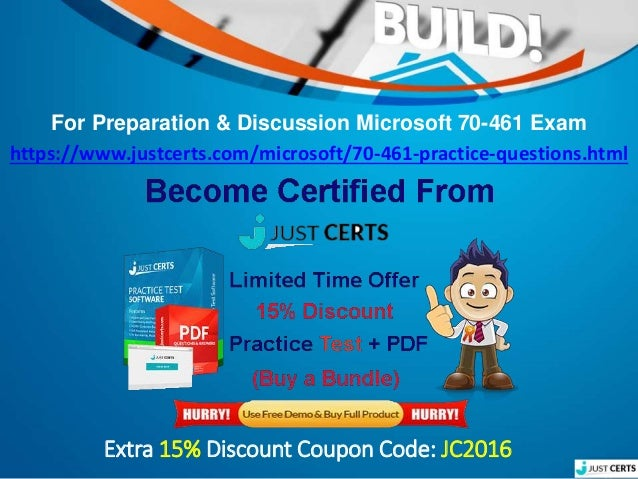 best study tips for microsoft 70-461 mcsa sql server 2008 certificati…