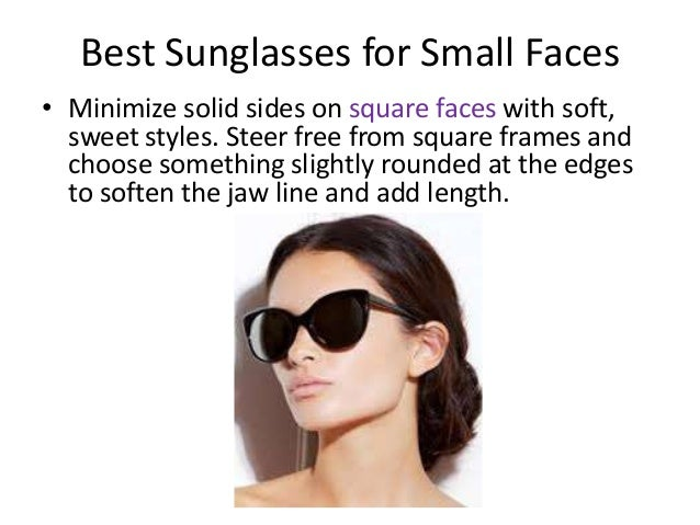 Wondrous Best Sunglasses For Small Faces Hairstyle Inspiration Daily Dogsangcom