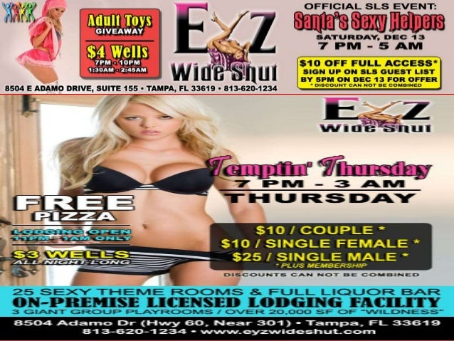 Swinger clubs in tampa