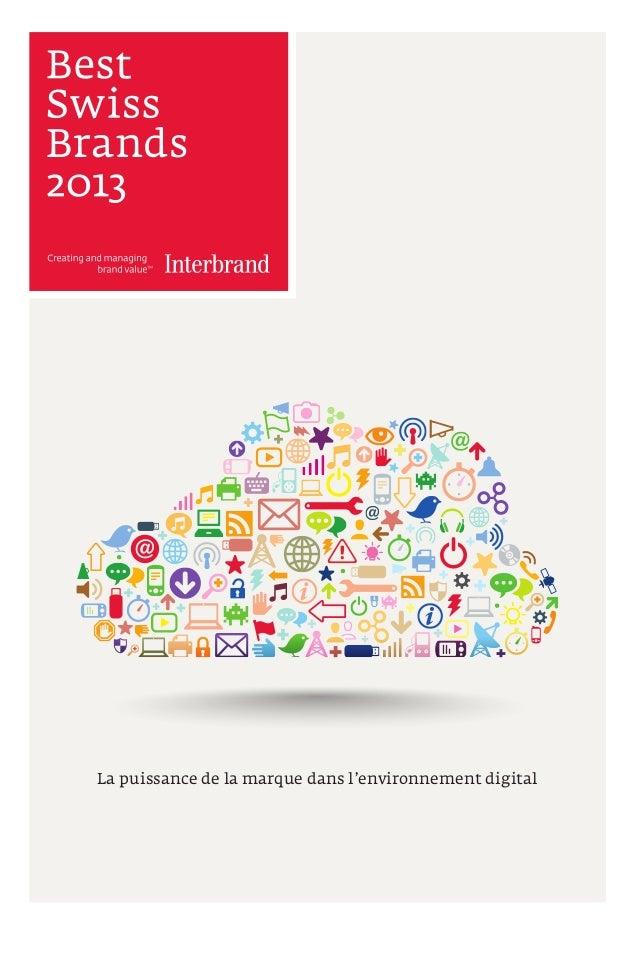 La puissance de la marque dans l'environnement digital