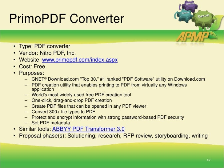 [PDF] Apmp proposal guide - read & download